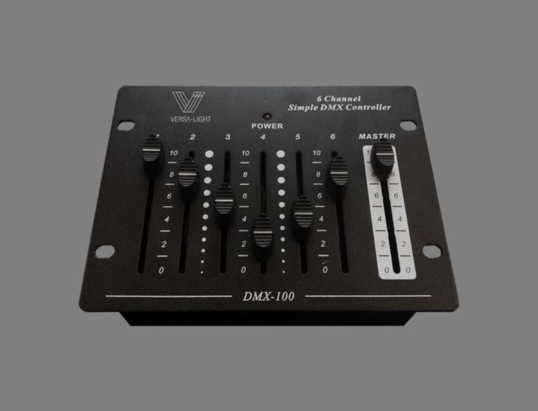 VERSA-LIGHT 6 WAY DMX CONTROLLER